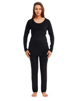 Madison Straight Leg Pant 300gsm - Black
