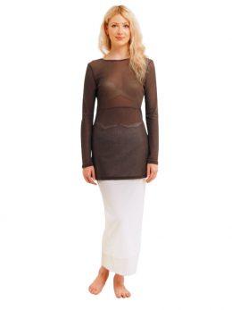 Rosie White Net Skirt