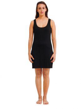 Madison Sleeveless Dress - Black