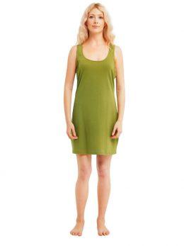 Madison Sleeveless Dress - Green