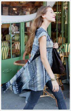Elizabeth Cap Sleeve Tunic - Khardio