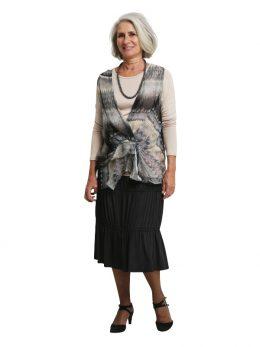 Nicola Short Sleeveless Tunic - Khardio