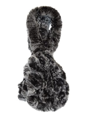Charcoal Fur Scarf