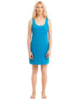 Madison Sleeveless Dress - Aqua
