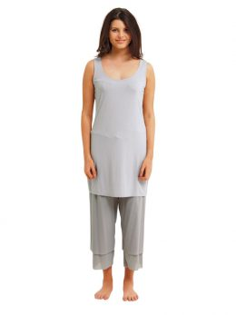Madison Sleeveless Dress - Silver