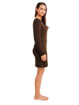 Madison Long Sleeve Top 220GSM - Khaki