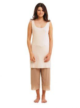 Madison Sleeveless Dress - Nude
