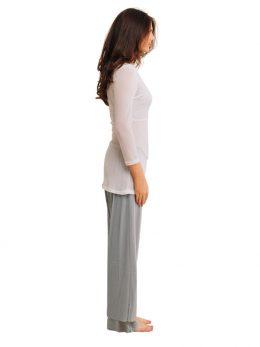Rosie Silver Net Pant Full Length