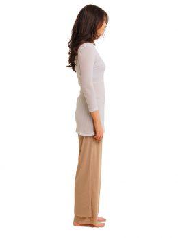Rosie Stone Net Pant Full Length