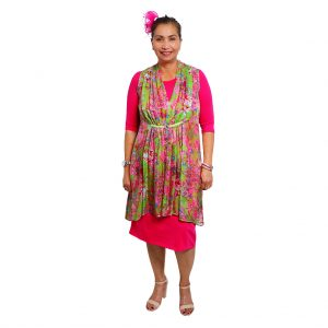 Wynona Orchid - Sleeveless Dress