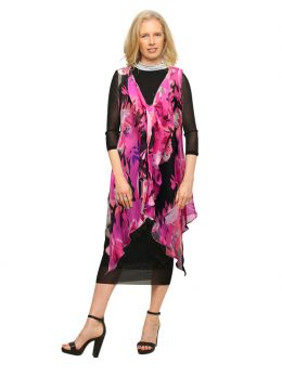 Ellie Sleeveless Tunic - Dali