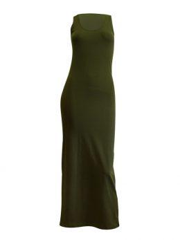 Madison Maxi Dress - Khaki
