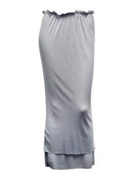 Rosie Silver Net Double Layer Skirt