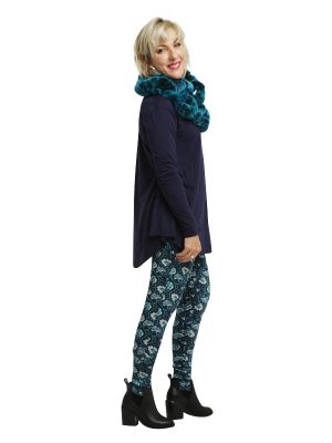 Calista Drop Crutch Pant - Vintage Green