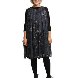 Pocket Dress - Black Birds