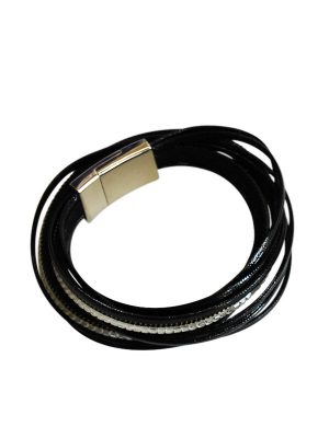 Black Diamente bracelet.