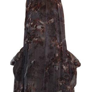POCKET DRESS BLACK BIRD