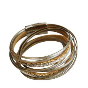 Gold Diamente bracelet.