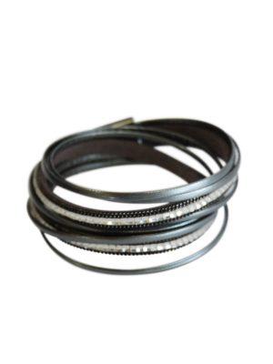 Silver Diamente Bracelet.
