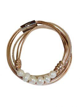 Pearl Bracelet - Taupe