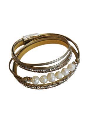 Pearl Bracelet - Rose Gold
