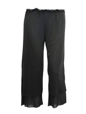 Rosie Net 3/4 Length Pant – Granite