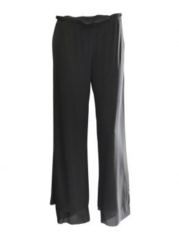 Rosie Net Pant Full Length – Granite