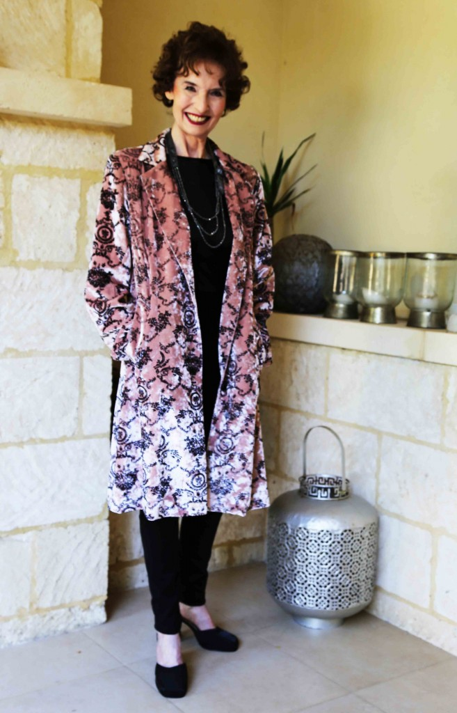 Duster Jacket – Pink Boudoir