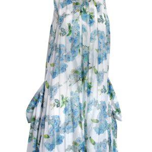 Pocket Dress - Blue Garden