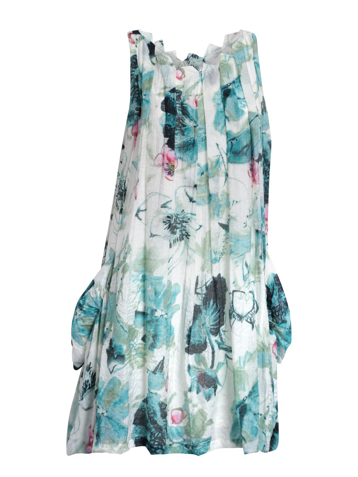 03db42b41fc Pocket Dress - Green Lotus - Queen Of Everything