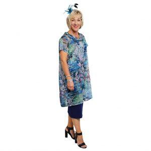 Sandie Top - Blue Blossom
