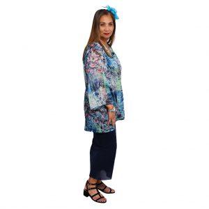 Tenneil Jacket - Blue Blossom