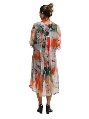 Mary 3/4 Sleeve Dress - Lilypond