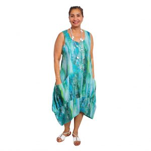 Lindy Dress - Paint Strokes