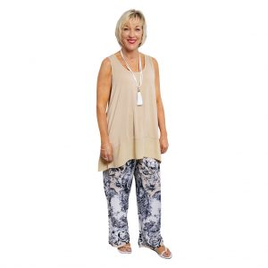 Michaela Pants - Corinthian