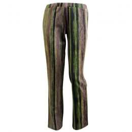 Boot Pant - Green Stripe