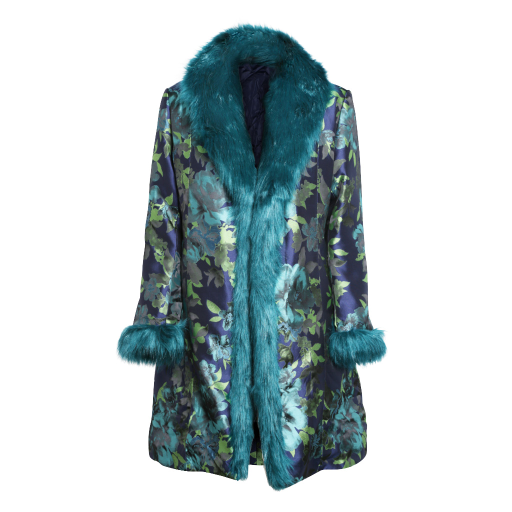 Teal Brocade – Duster – F