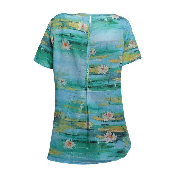Blue Lotus T shirt B