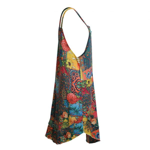 Flower Screen pinafore S