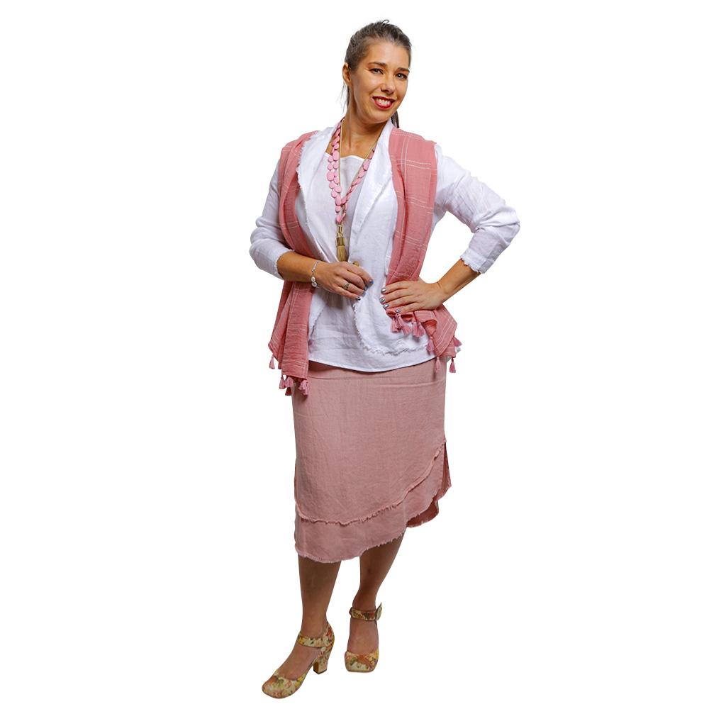 Isabelle Skirt Pink Musk