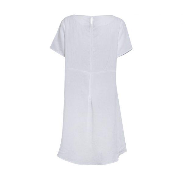 White Tshirt Dress B (2)