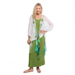 Bamboo Maxi Dress Green