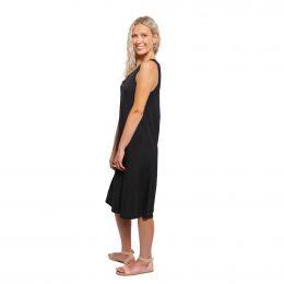 Bamboo Midi Dress Black