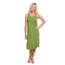 Bamboo Midi Dress Green