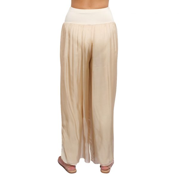 Silk Pant Stone B