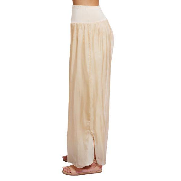 Silk Pant Stone S