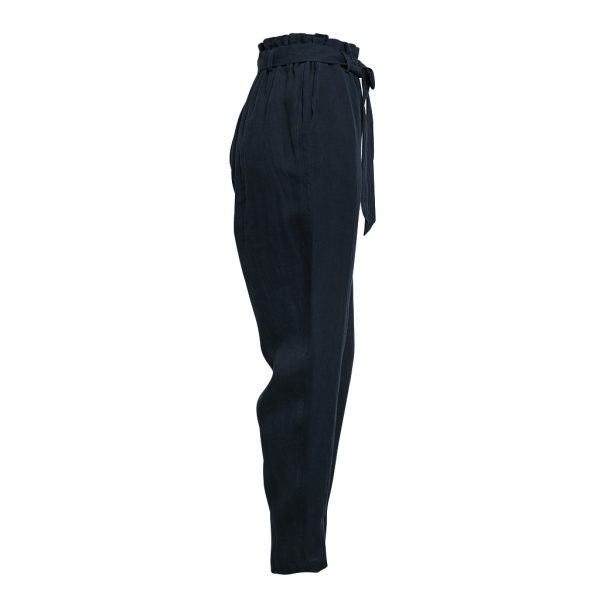 Linen Pant Ink Side View