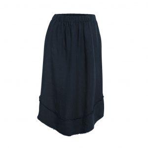 Linen Skirt Ink Front