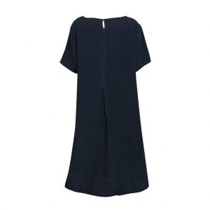 Linen T-Shirt Dress Ink Back