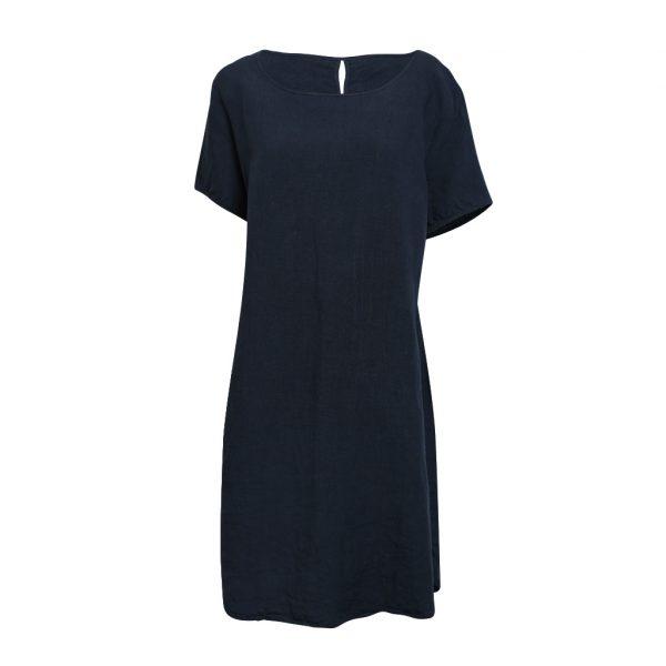 Linen T-Shirt Dress Ink
